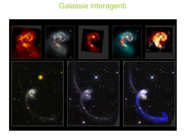 Galassie interagenti