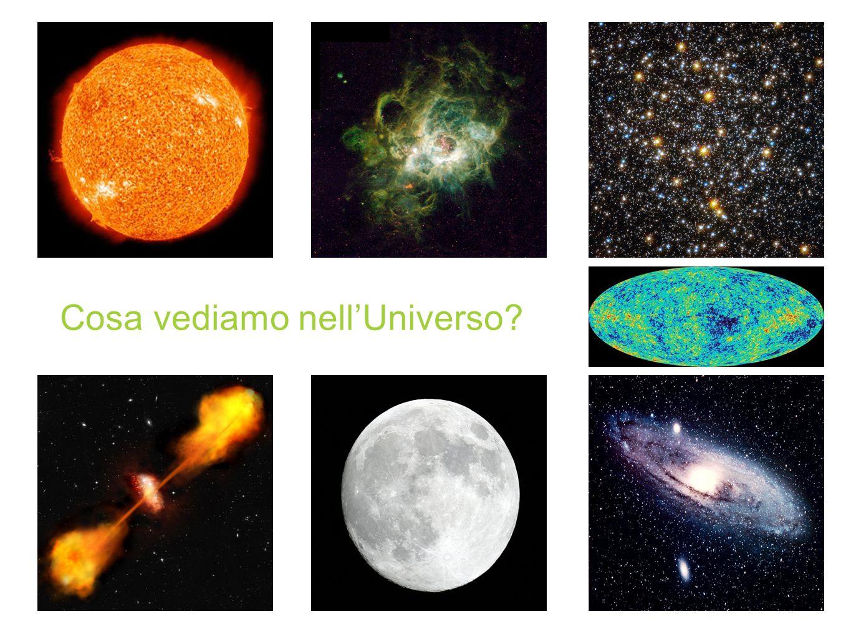 Cosa vediamo nell'Universo
