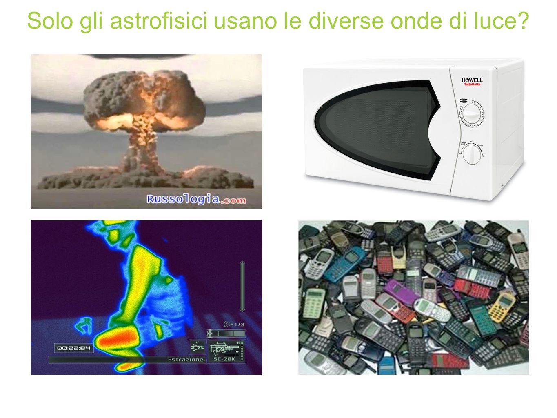 Solo gli astrofisici usano le diverse onde di luce