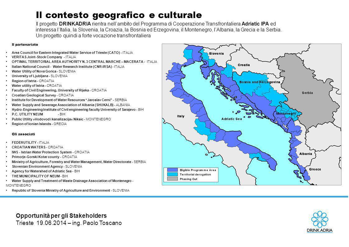 Il contesto geografico e culturale