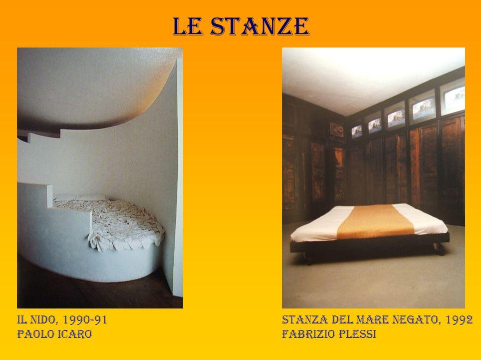 Le stanze Il nido, 1990-91 paolo icaro Stanza del mare negato, 1992