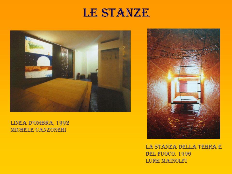 Le stanze Linea d'ombra, 1992 Michele canzoneri