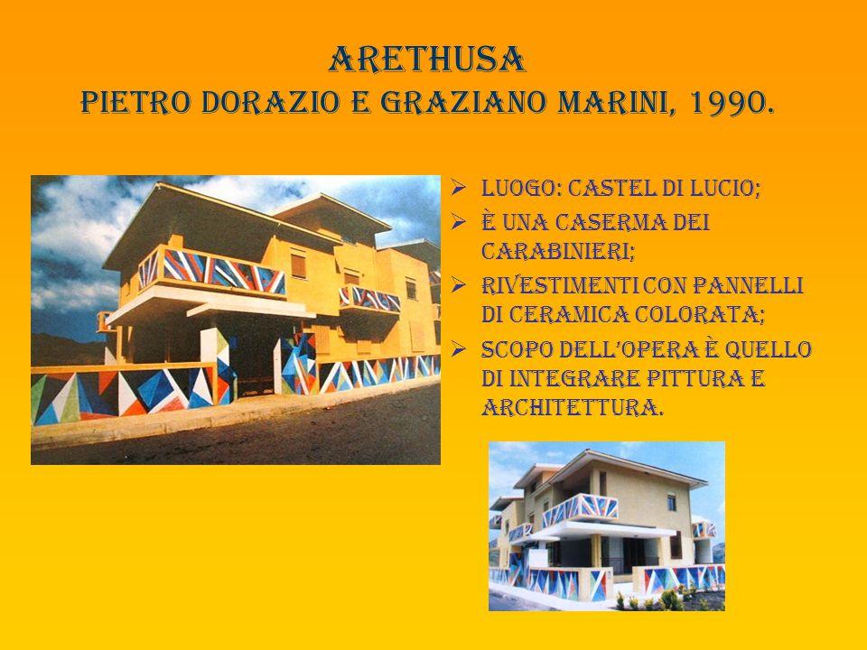 Arethusa pietro dorazio e graziano marini, 1990.