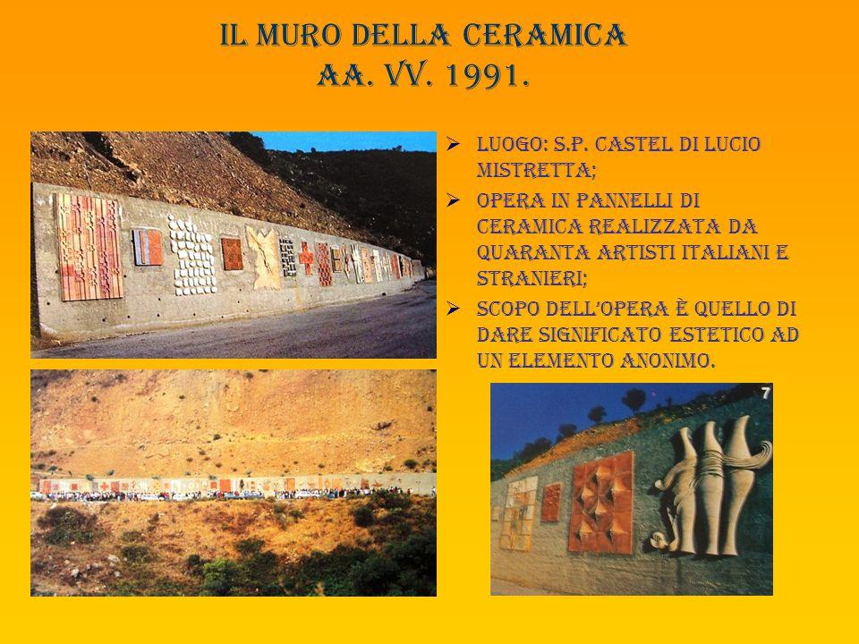 Il muro della ceramica aa. Vv. 1991.