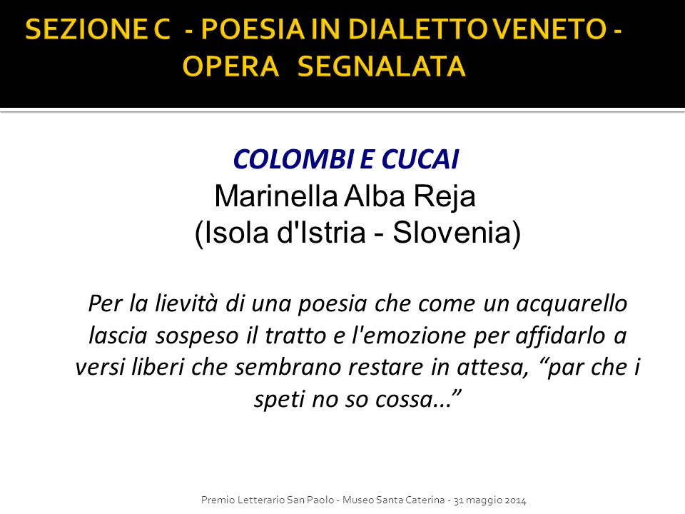 Molto Poesie In Dialetto Veneto BP44 » Regardsdefemmes MP04