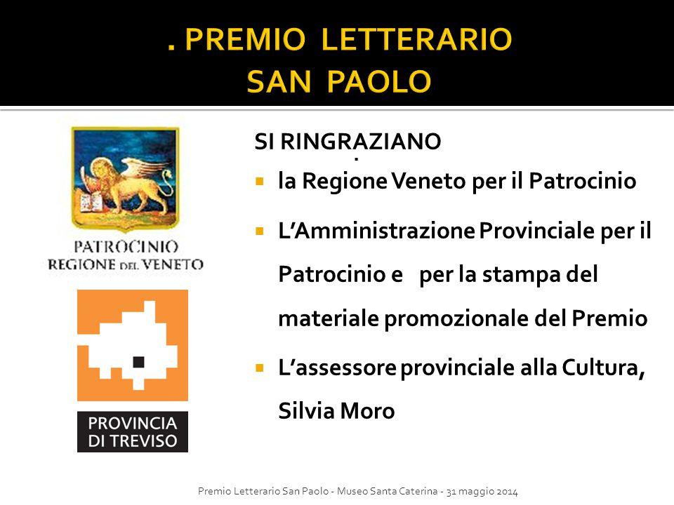 . PREMIO LETTERARIO SAN PAOLO