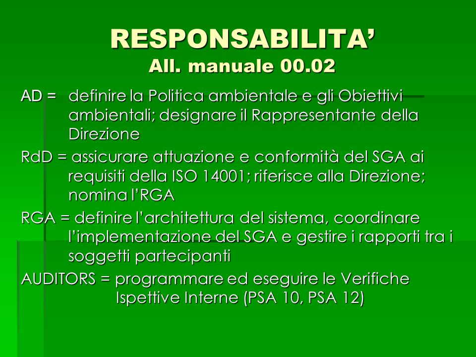 RESPONSABILITA' All. manuale 00.02