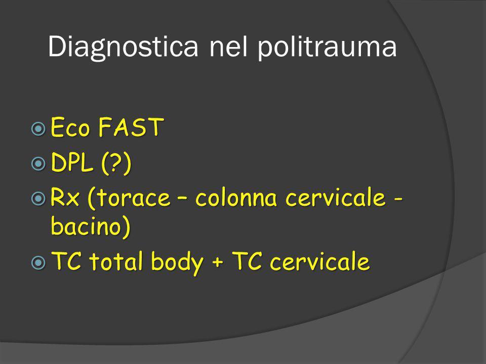 Diagnostica nel politrauma