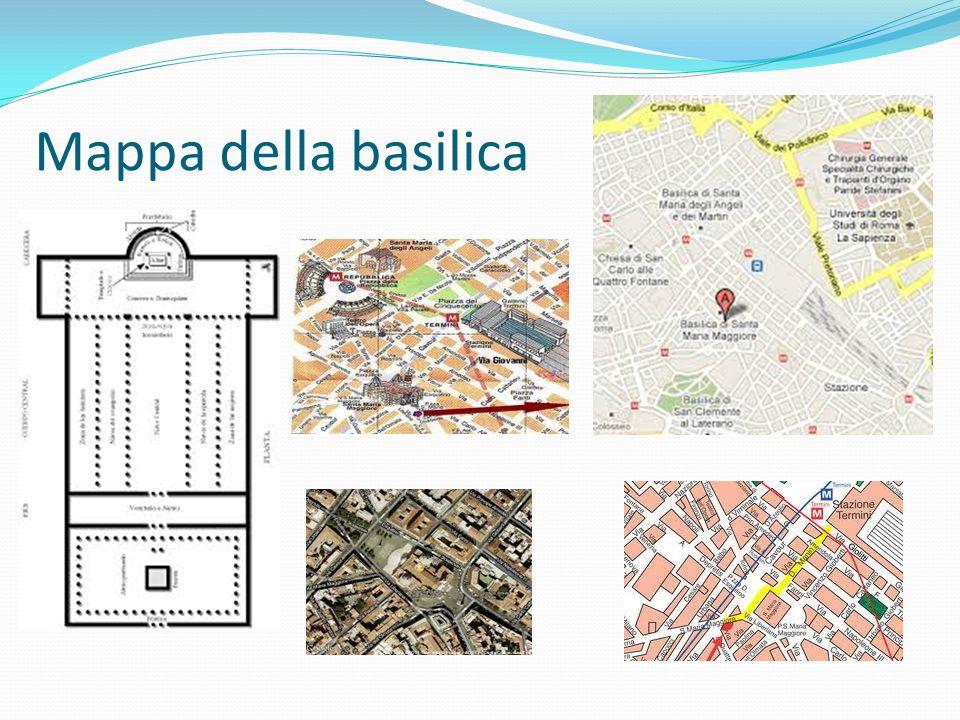 Mappa della basilica