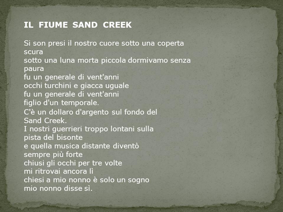 IL FIUME SAND CREEK