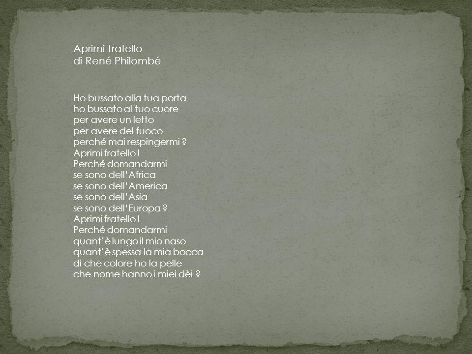 Aprimi fratello di René Philombé