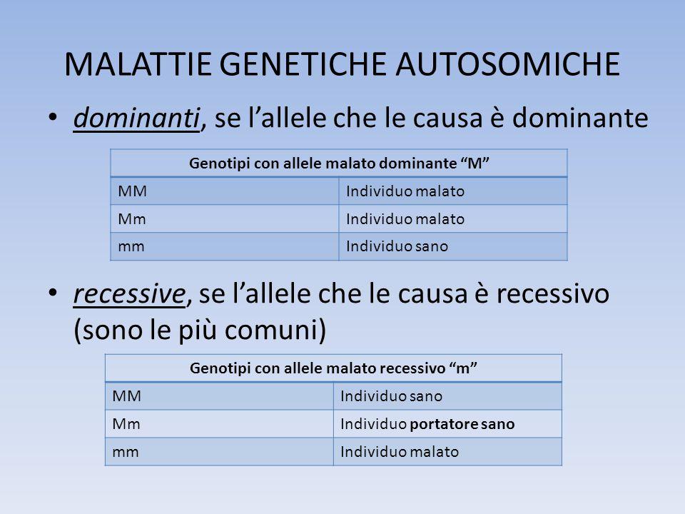MALATTIE GENETICHE AUTOSOMICHE