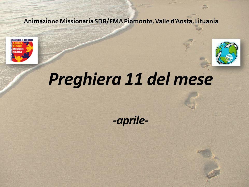 Preghiera 11 del mese -aprile-