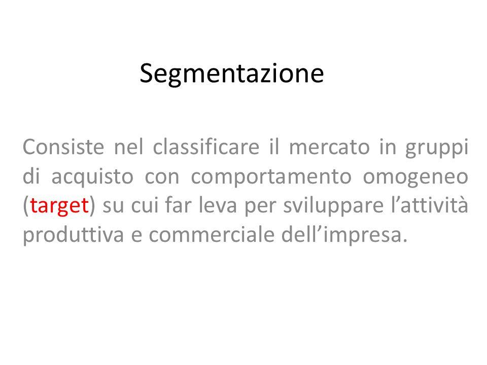 Segmentazione