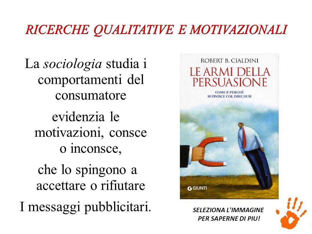 La sociologia studia i comportamenti del consumatore