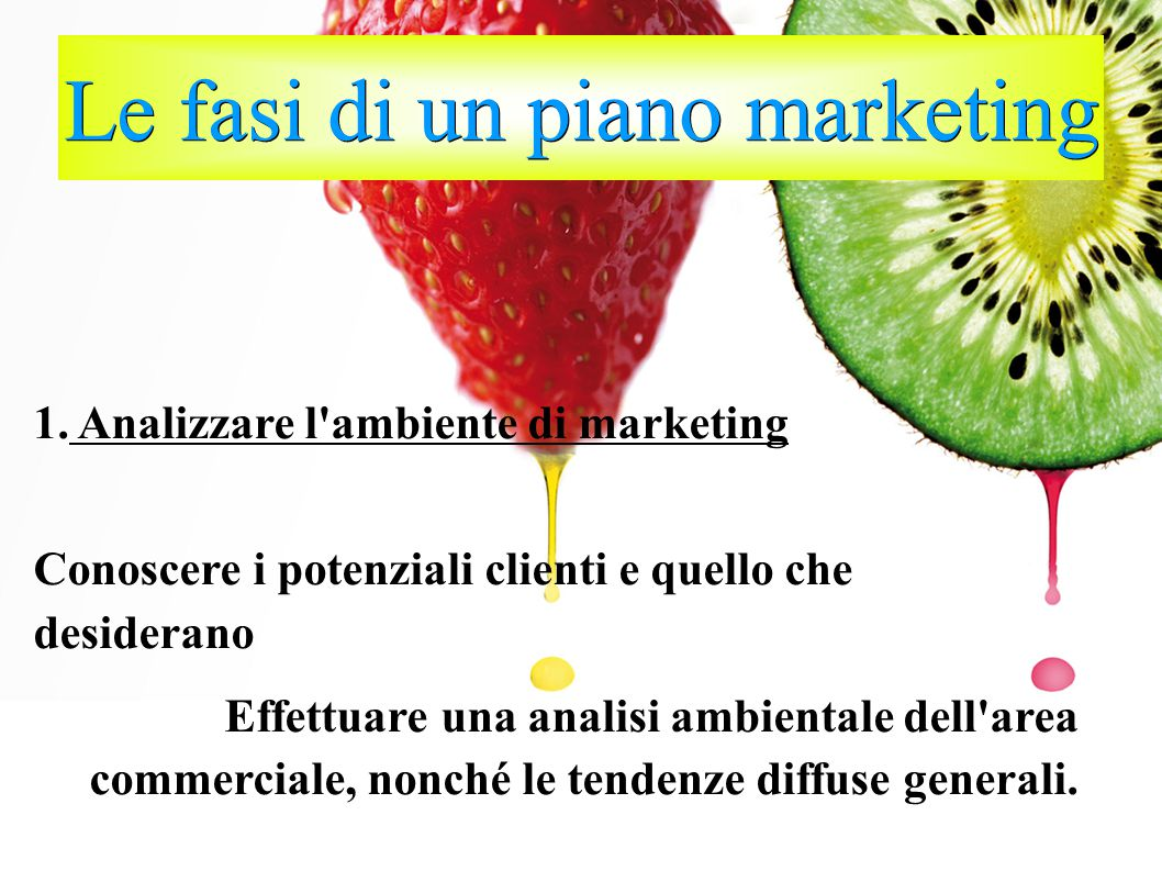 Le fasi di un piano marketing