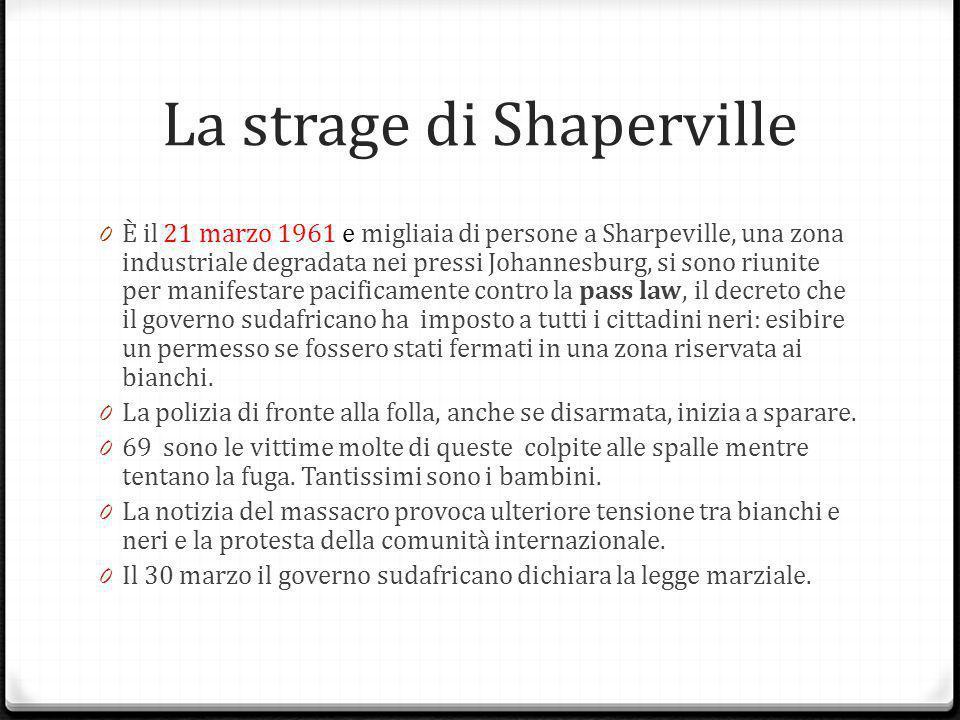La strage di Shaperville