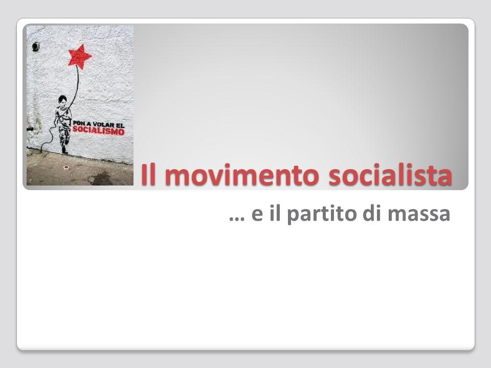 Il movimento socialista