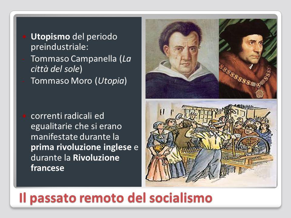 Il passato remoto del socialismo