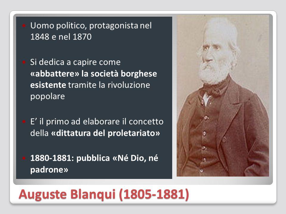 Uomo politico, protagonista nel 1848 e nel 1870