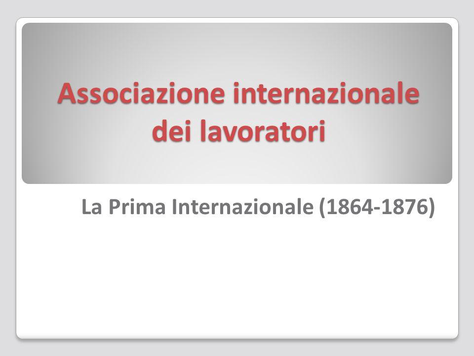 Associazione internazionale dei lavoratori