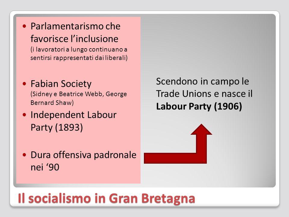 Il socialismo in Gran Bretagna