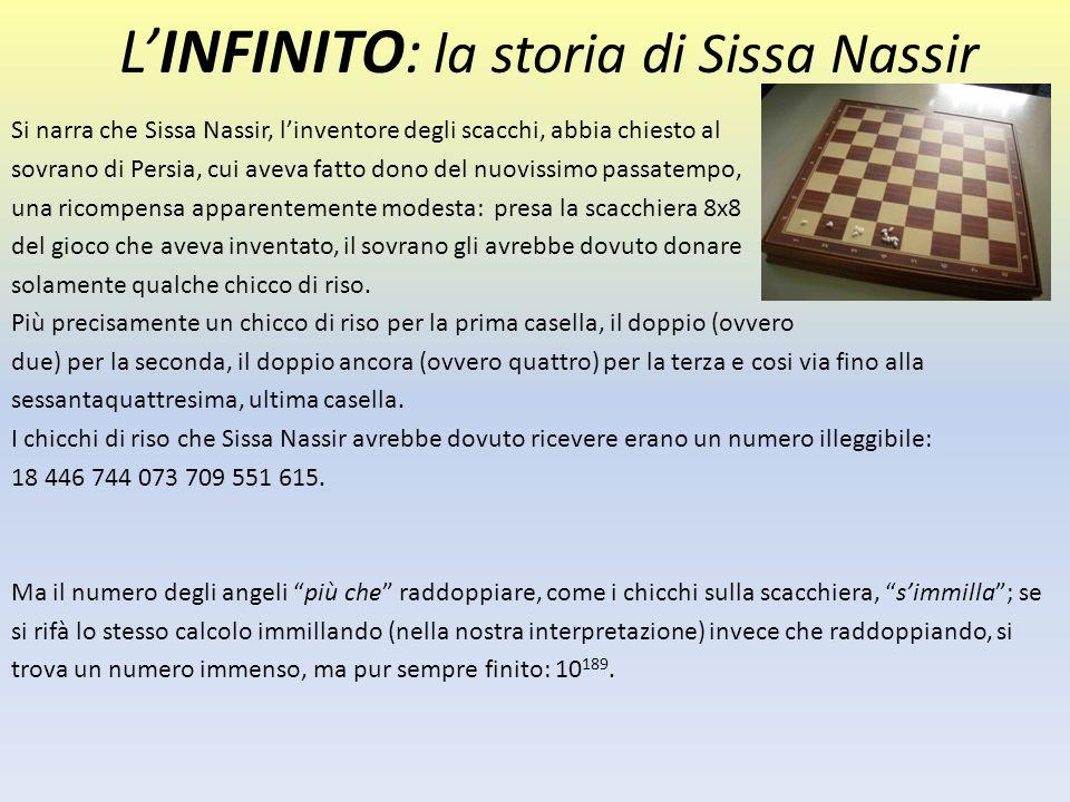 L'INFINITO: la storia di Sissa Nassir