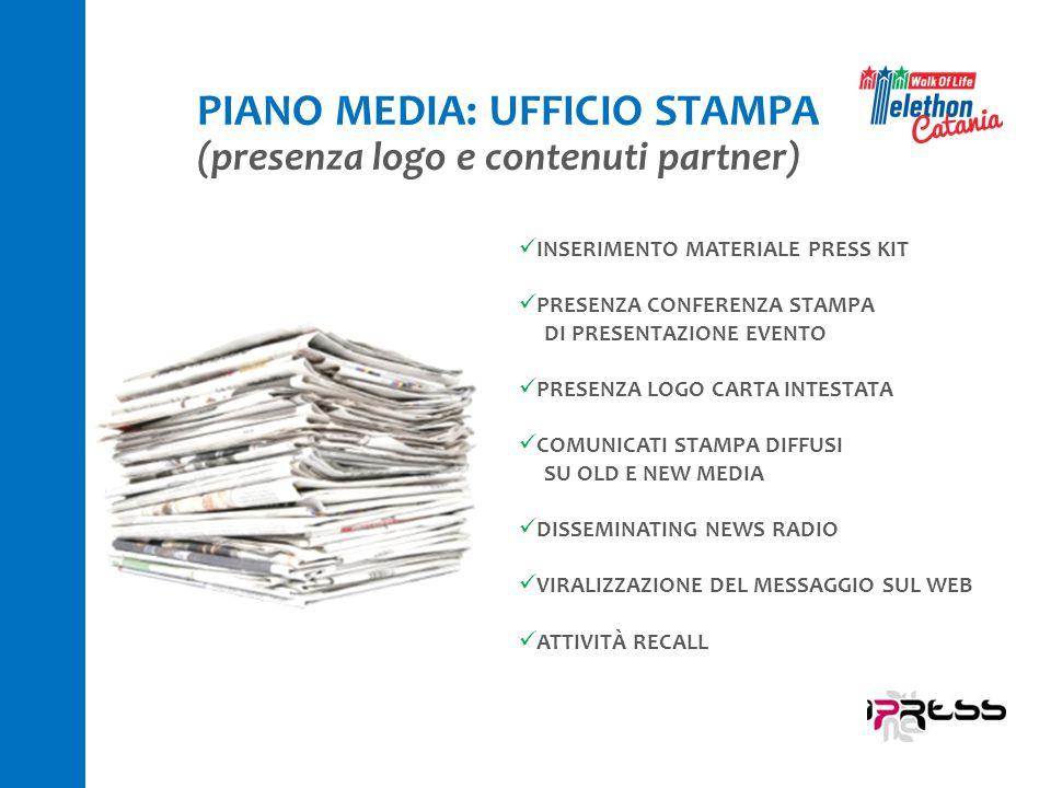 PIANO MEDIA: UFFICIO STAMPA
