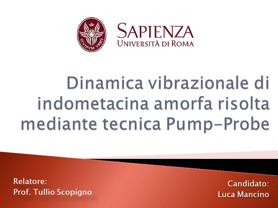 Relatore: Prof. Tullio Scopigno