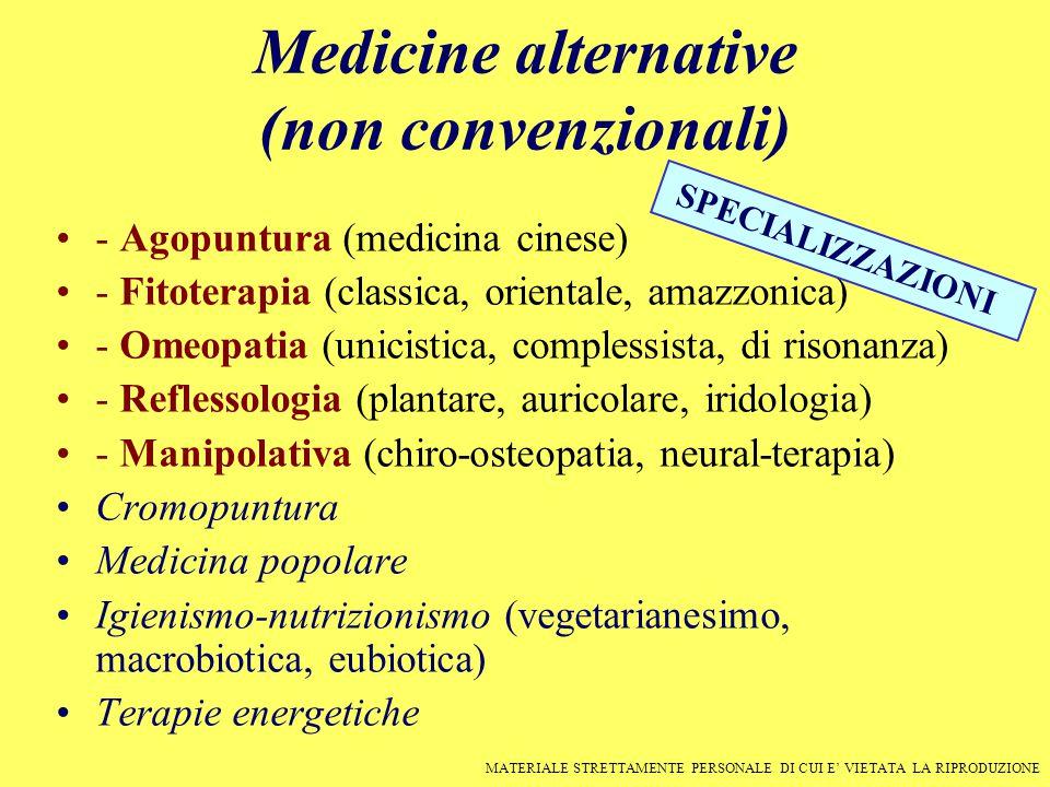Medicine alternative (non convenzionali)