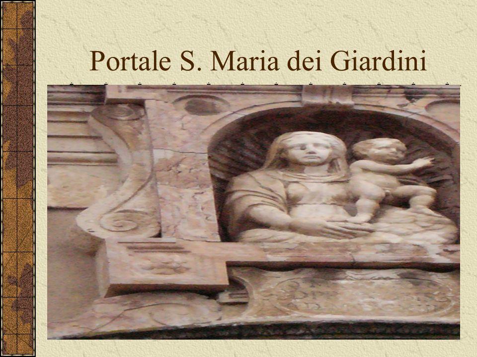 Portale S. Maria dei Giardini