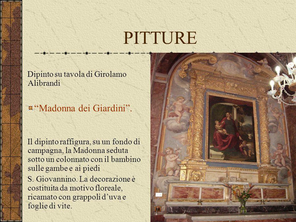 PITTURE Madonna dei Giardini .