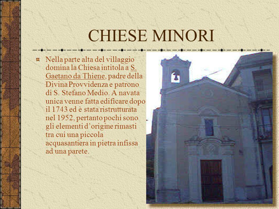 CHIESE MINORI
