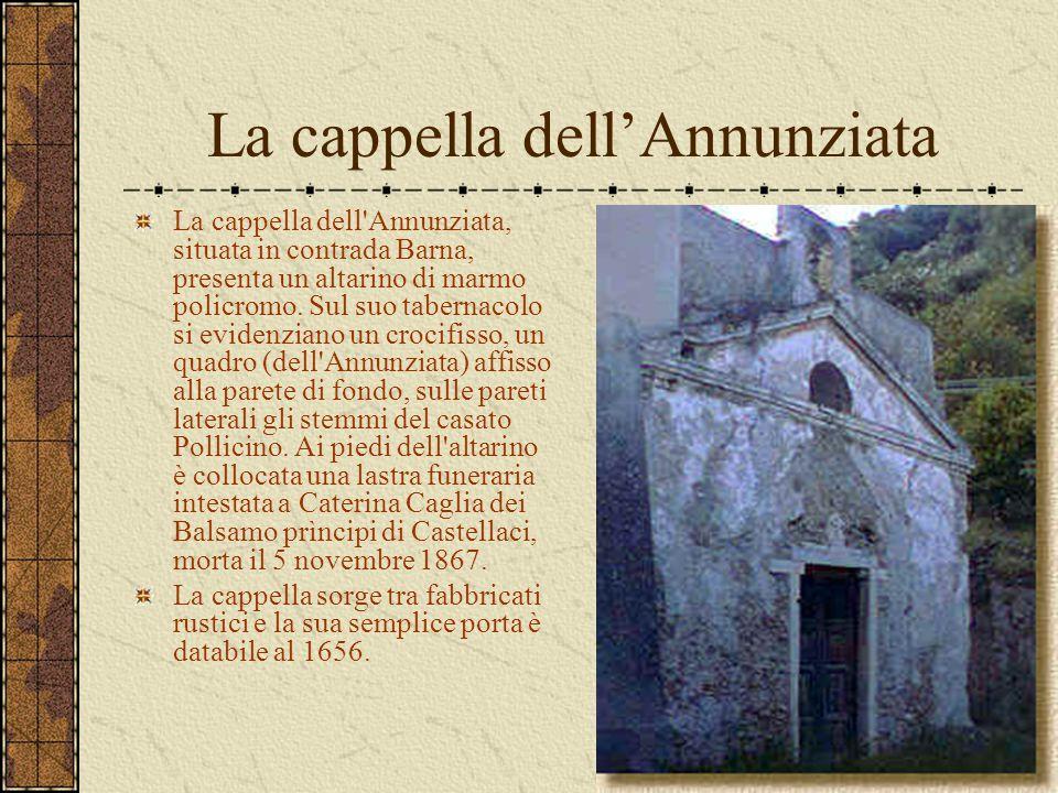 La cappella dell'Annunziata