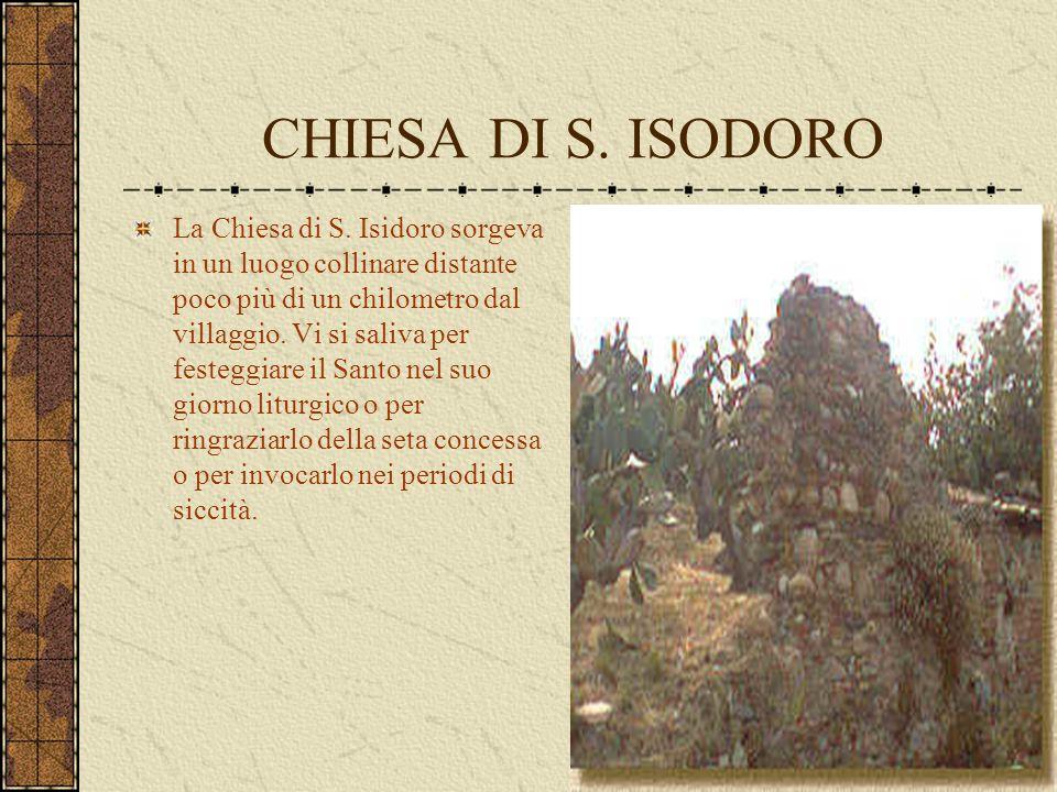 CHIESA DI S. ISODORO
