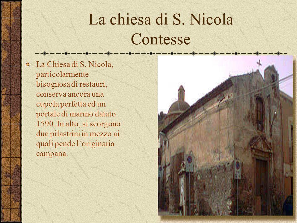 La chiesa di S. Nicola Contesse