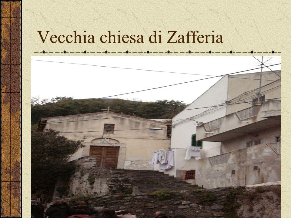 Vecchia chiesa di Zafferia
