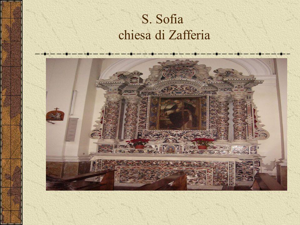 S. Sofia chiesa di Zafferia