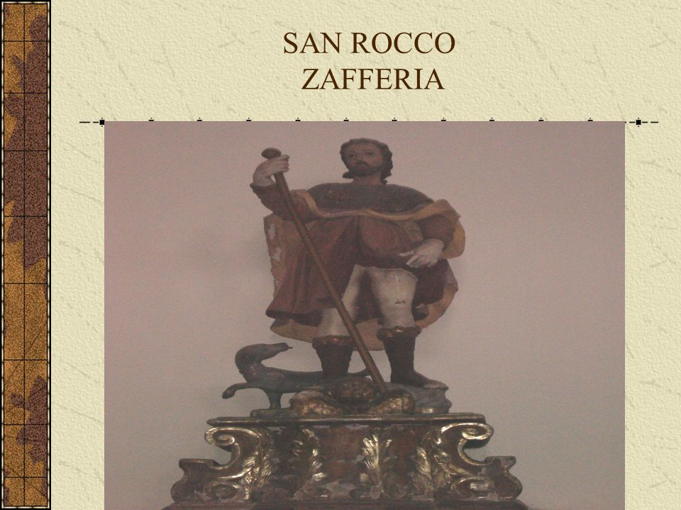 SAN ROCCO ZAFFERIA