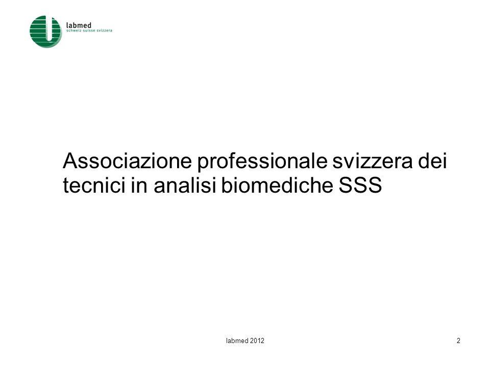 Associazione professionale svizzera dei tecnici in analisi biomediche SSS