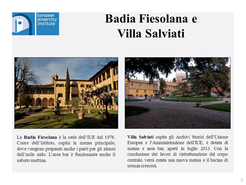 Badia Fiesolana e Villa Salviati