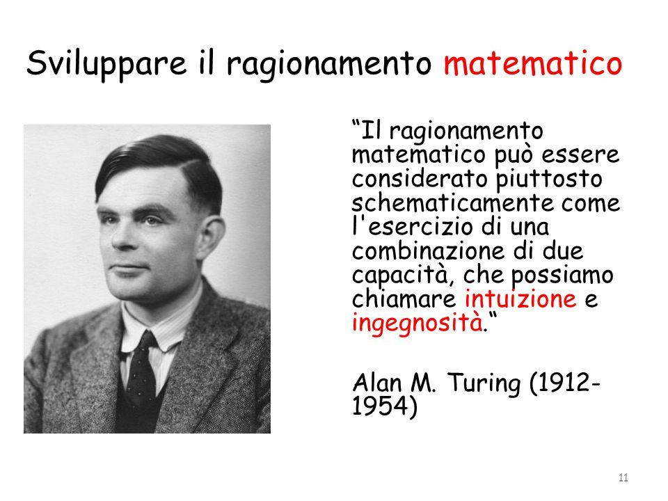 Sviluppare il ragionamento matematico