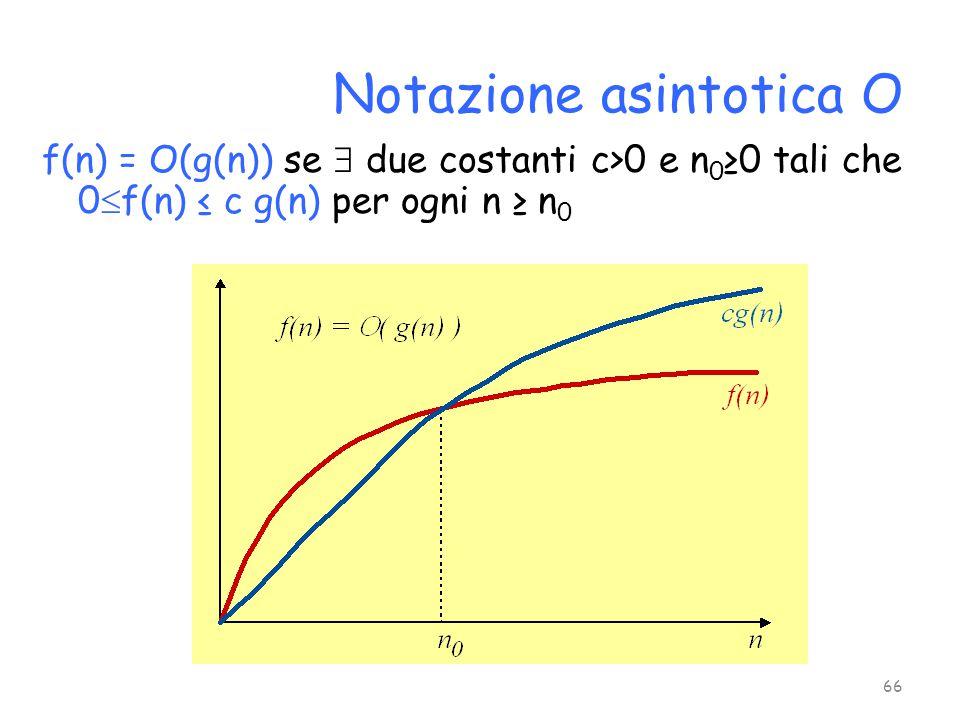 Notazione asintotica O