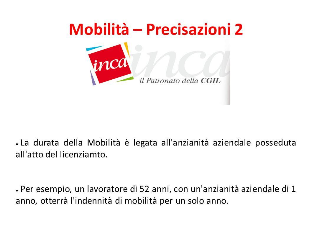 Mobilità – Precisazioni 2