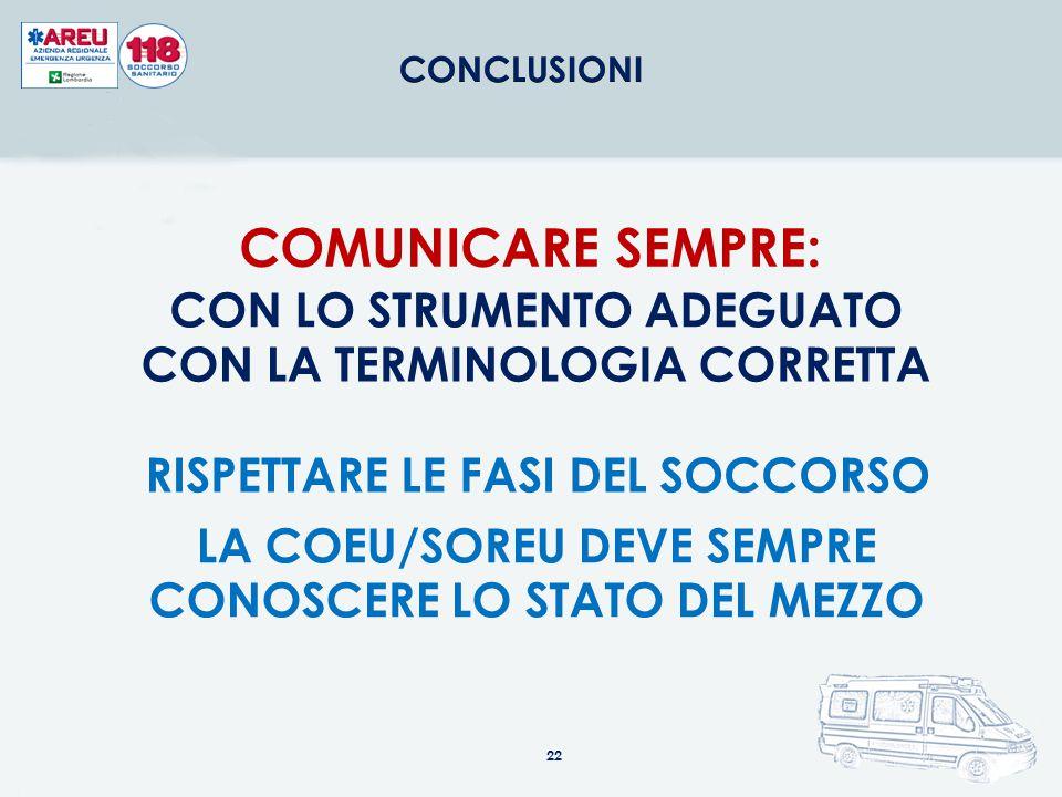 COMUNICARE SEMPRE: CON LO STRUMENTO ADEGUATO