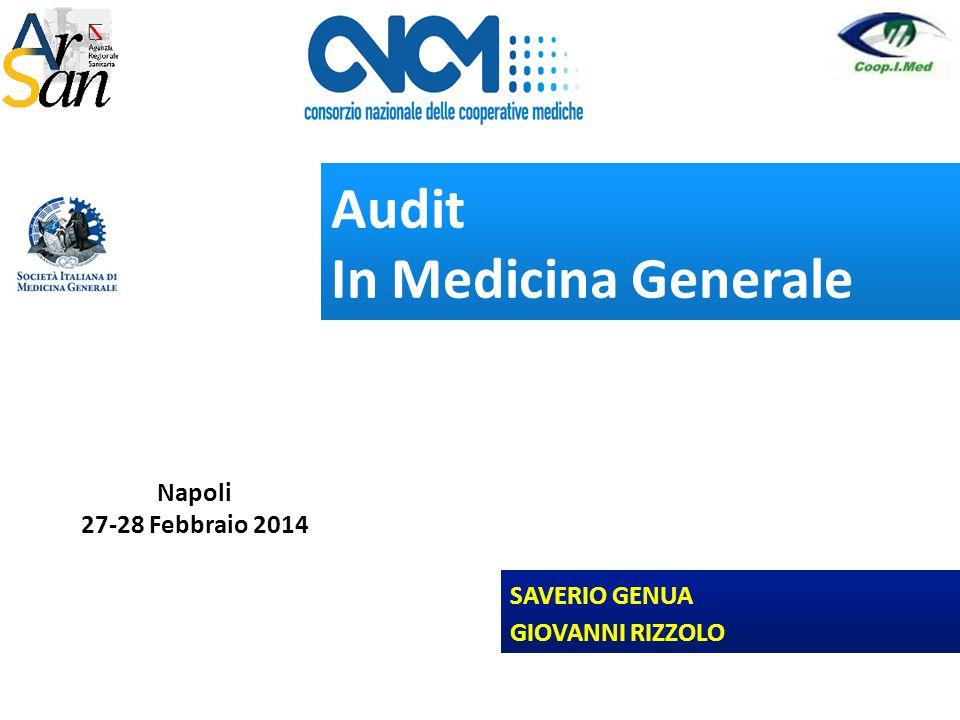 Audit In Medicina Generale 1 Napoli 27-28 Febbraio 2014 SAVERIO GENUA