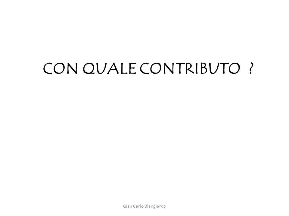 CON Quale contributo Gian Carlo Blangiardo