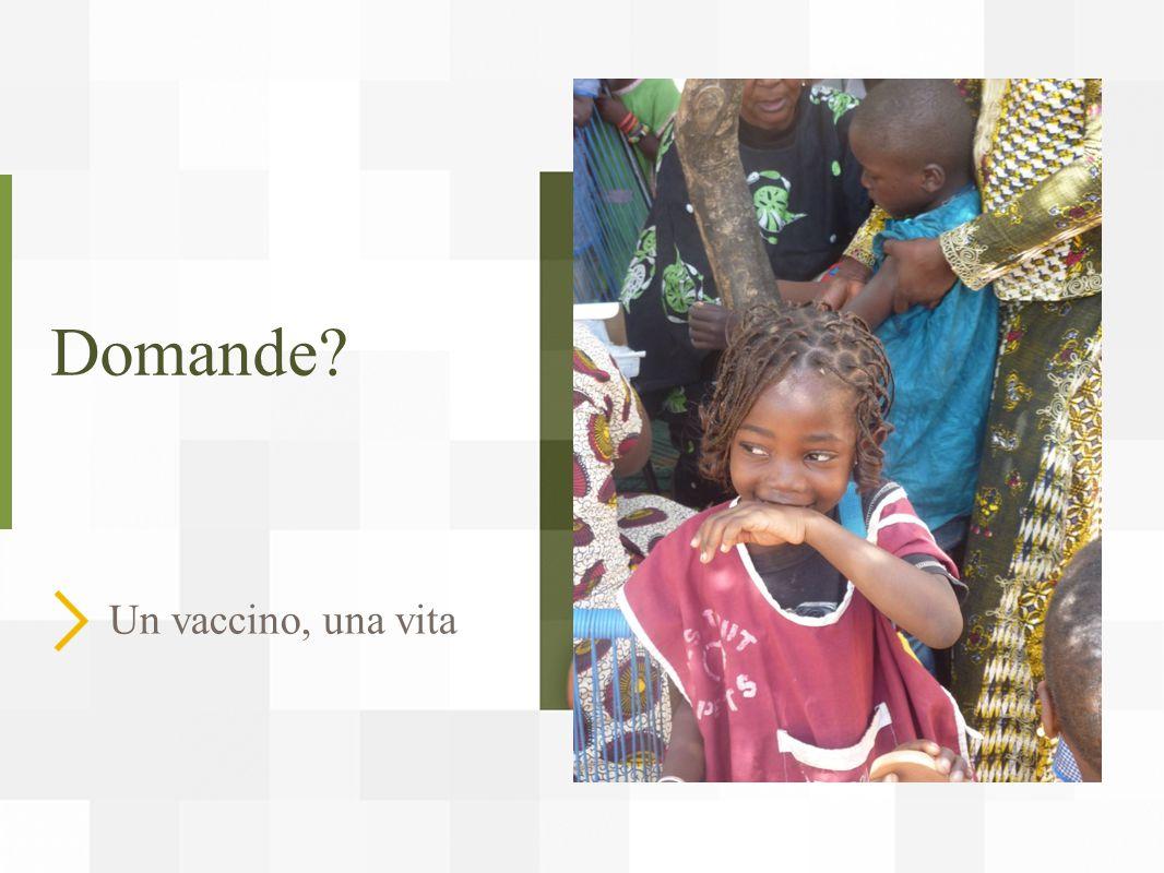 Domande Un vaccino, una vita