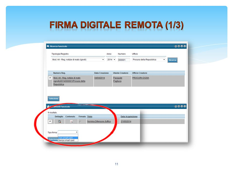 Firma digitale remota (1/3)