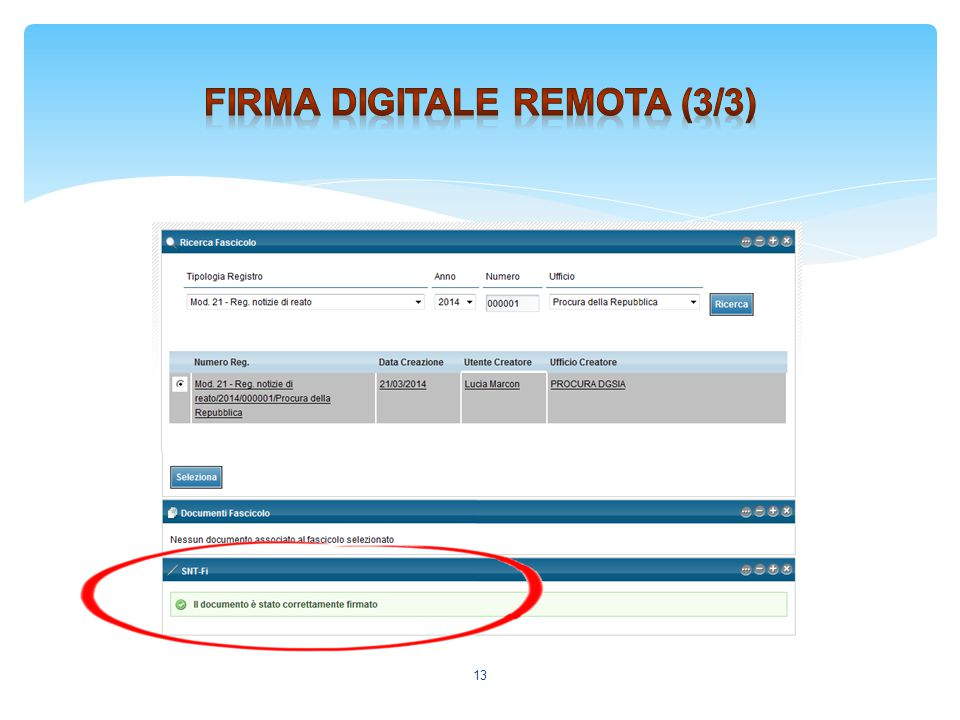 Firma digitale remota (3/3)